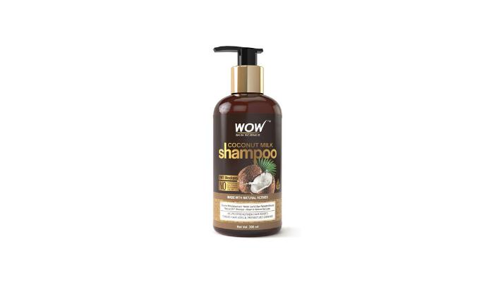WOW Coconut Milk Shampoo Review