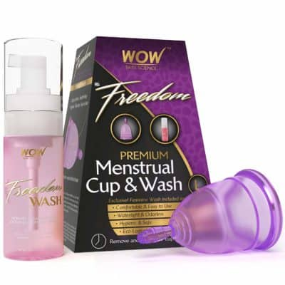 WOW Freedom Reusable Menstrual Cup and Wash(Above 30 Years)
