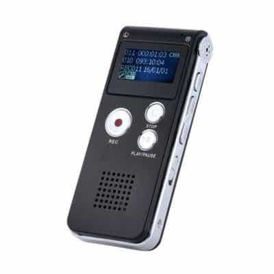Walmeck 8GB Intelligent Digital Audio Voice Phone Recorder