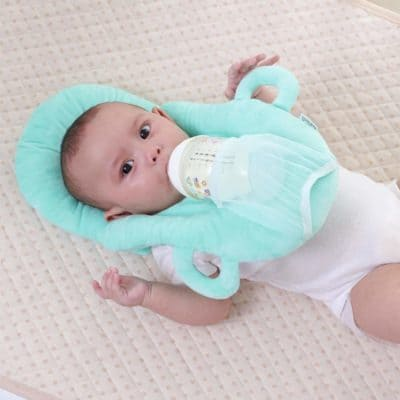 WeKidz Baby Self Feeding Pillow | Newborn Baby Head Pillow