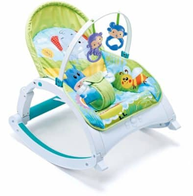 Webby Baby's Fiddle Diddle Bouncer/Rocker