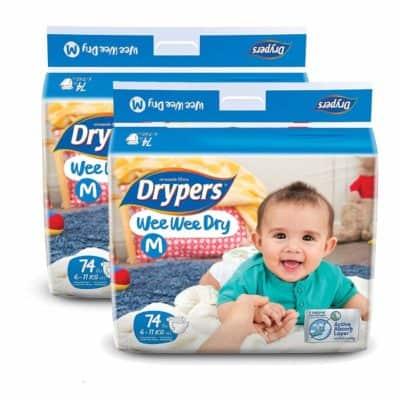 Drypers Wee Wee Dry Medium Size Diapers
