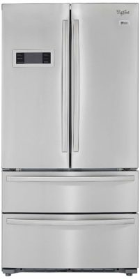 Whirlpool 570L Frost Free Multi-Door Refrigerator (702 French Door Bottom Mount, Stainless Steel, Inverter Compressor, Bottom Freezer)
