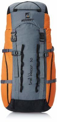 Wildcraft 50 Ltrs Orange Rucksack