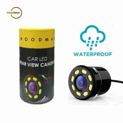 Woodman 8 LED Car Rear View Camera with Night Vision