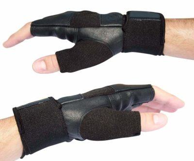 Xfinity Fitness Weight Lifting Gym Wrist Support Fingerless Gloves
