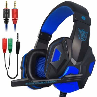 Xmowi 3.5 mm Wired Noise Isolation Gaming Headset