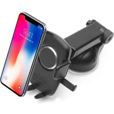 Zaap Quick Touch One 360 Adjustable Car Mount Holder