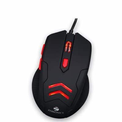 Zebronics Zeb Feather Optical USB Gaming Mouse