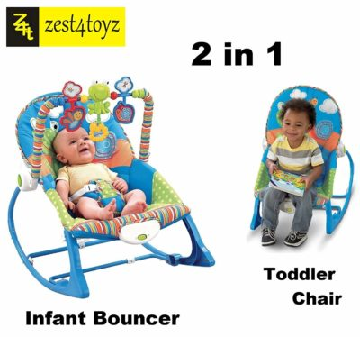 Zest 4 Toyz multifunctional vibration baby musical rocking chair bouncer swing rocker electronic baby chair