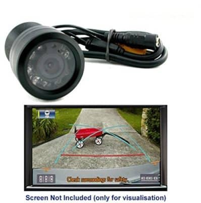 Amicikart 8 LED Night Vision Reverse Parking Camera