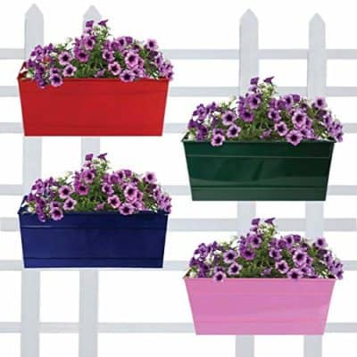 Trust basket Rectangular Railing Planters