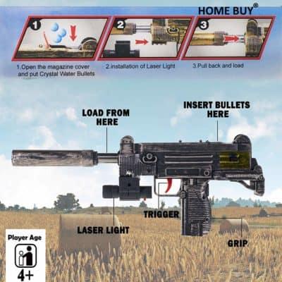 HOME BUY Plastic Gun Toys Set