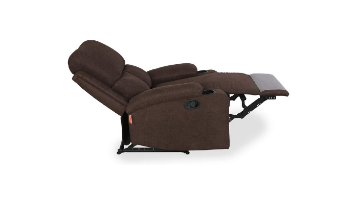 home by Nilkamal Matt Single Seater Recliner Chocolate Review
