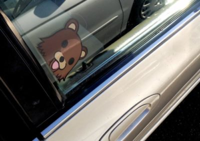 how to remove sticker residue from car