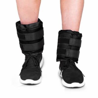 JBM Adjustable Ankle Weights Wrist Leg Weights Sand Filling