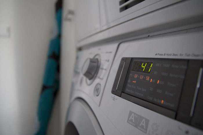 washing machine error code